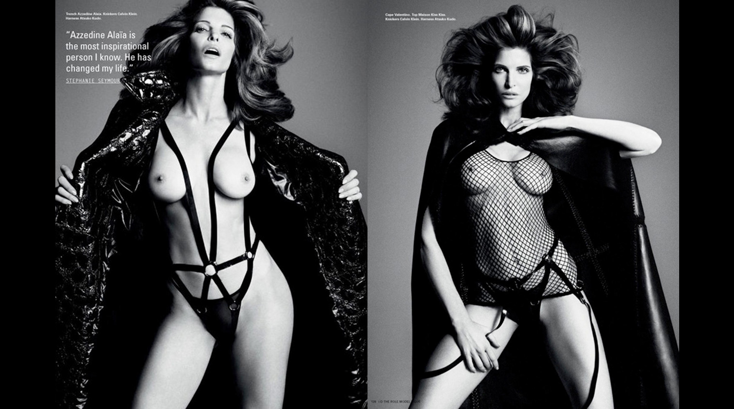 Stephanie Seymour Nude