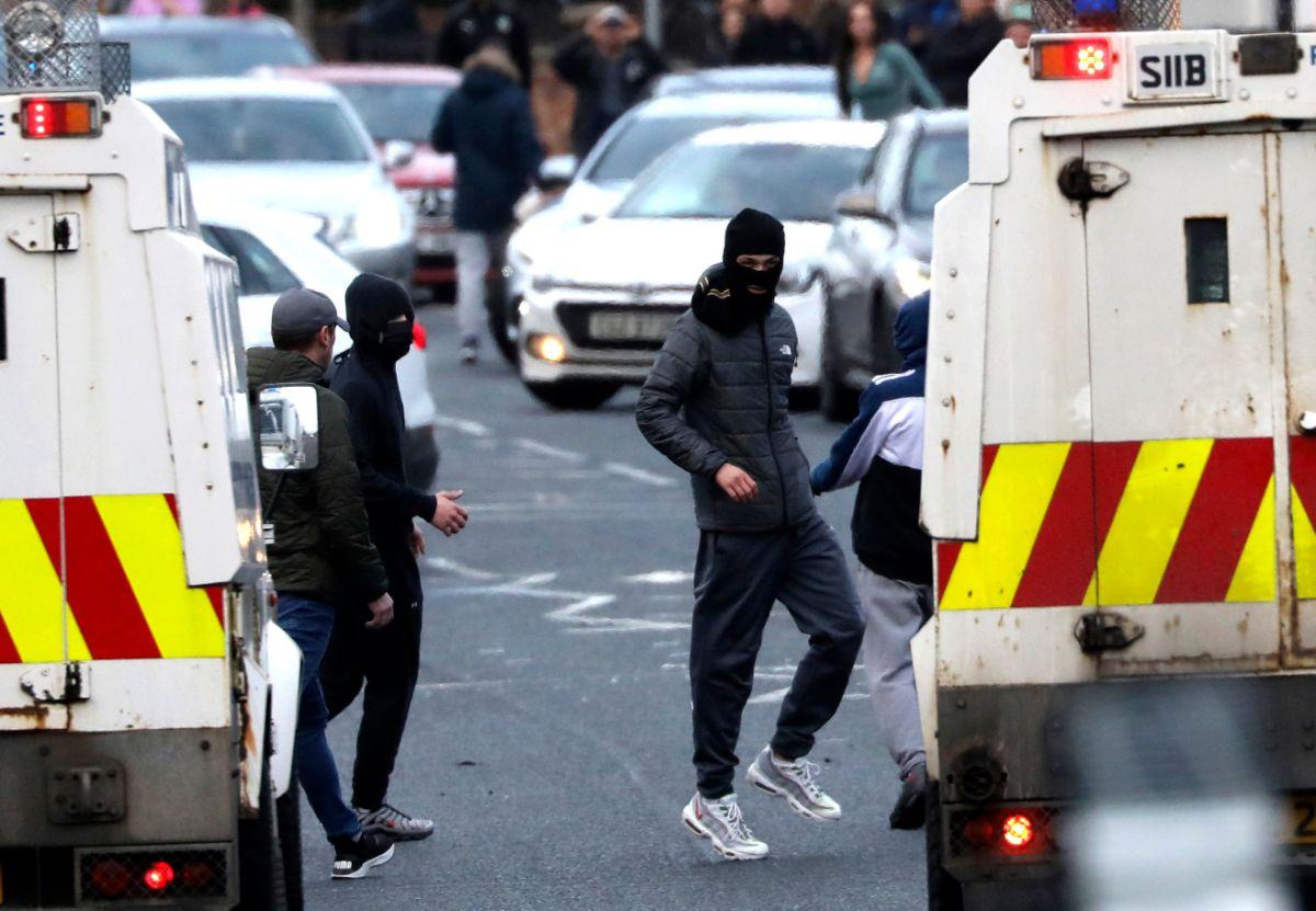 Φωτογραφίες από τις ταραχές