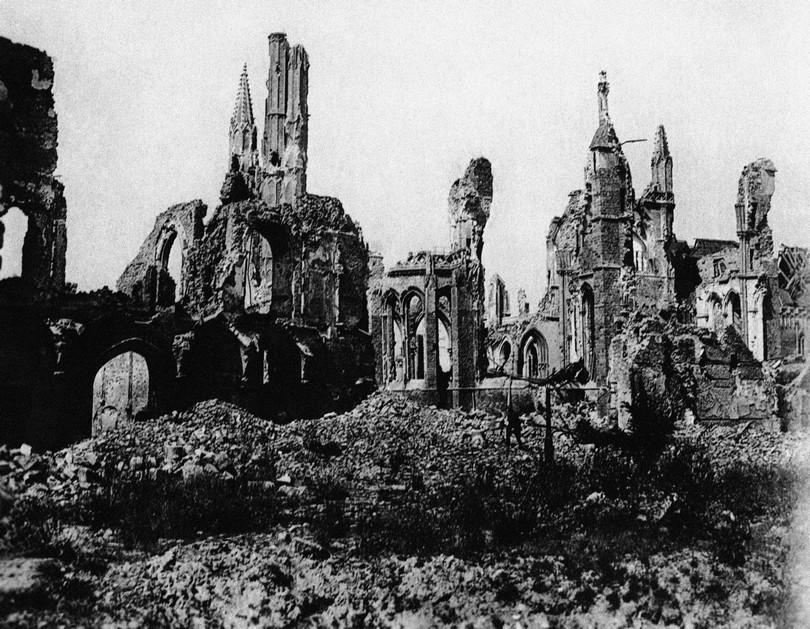 Καταστροφή στο Βέλγιο