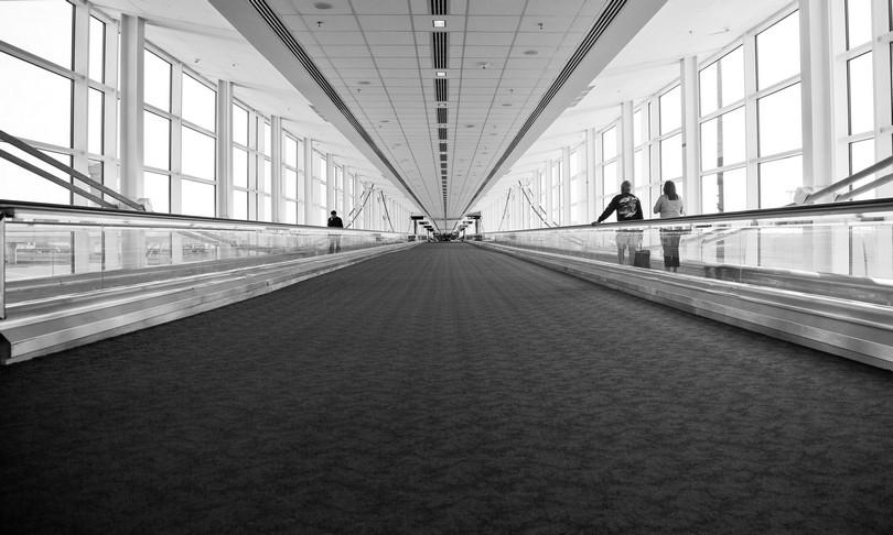 Αίθουσα αναμονής σε αεροδρόμιο