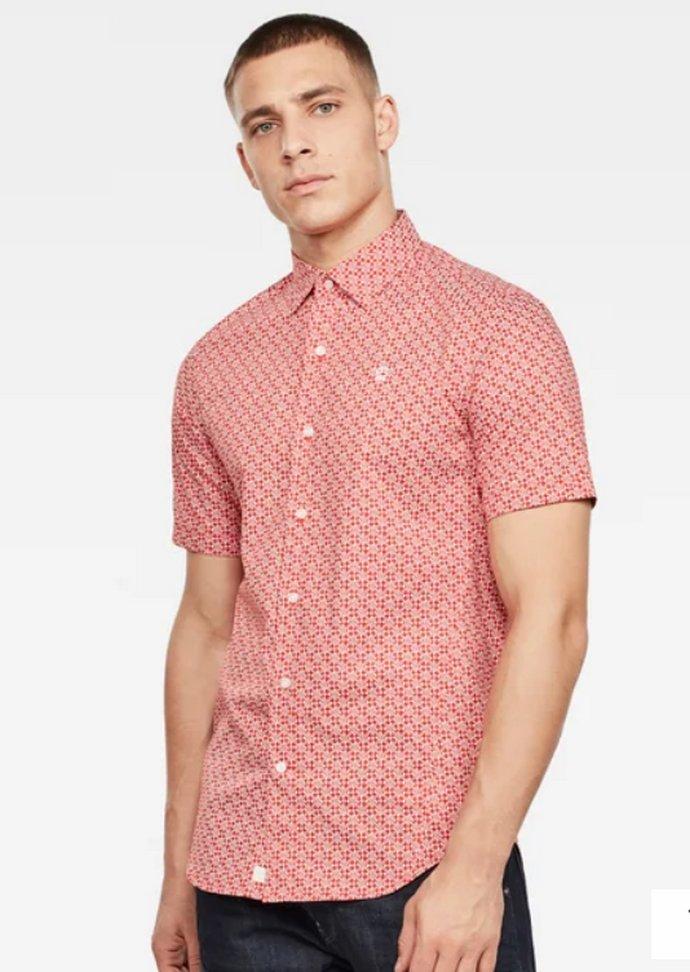 printed πουκάμισο του Anthony Hopkins