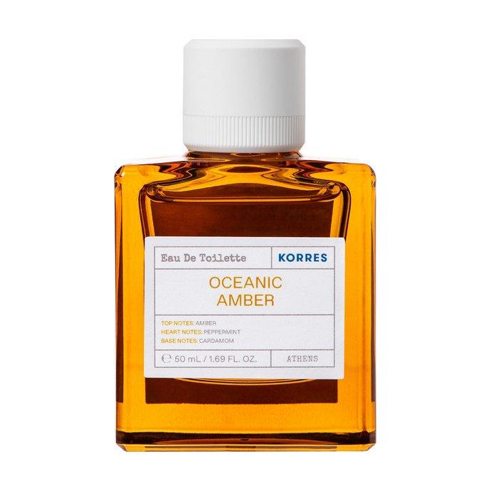 Korres Eau De Toilette Oceanic Amber
