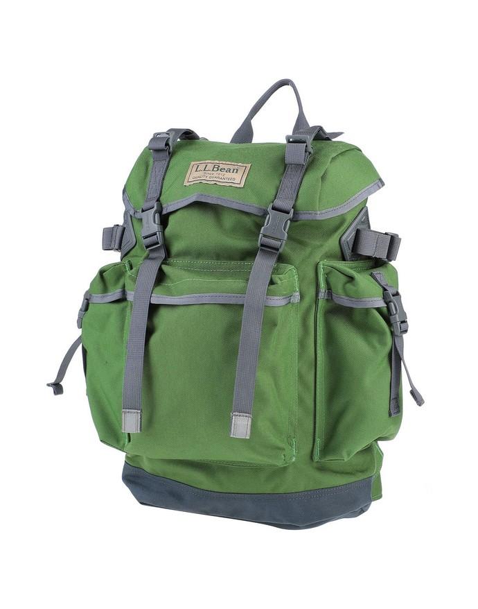 Υφασμάτινο backpack με εξωτερικές τσέπες