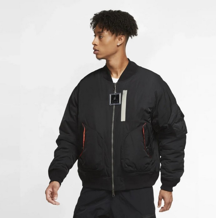 Bomber fligh jacket