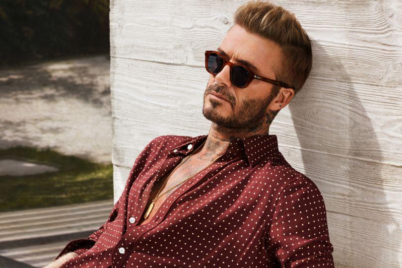 Τα κοκάλινα γυαλιά του Beckham