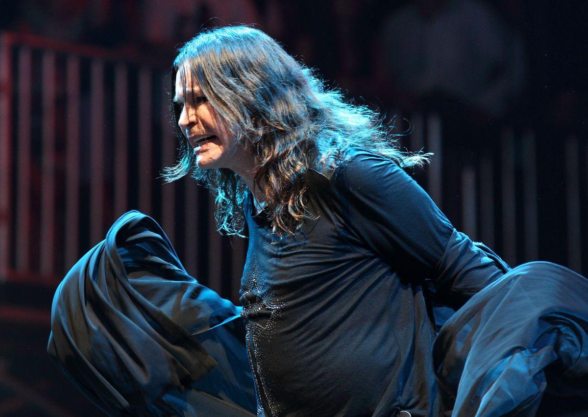 Ozzy Osbourne of Black Sabbath Lollapalooza