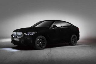 Η νέα BMW X6 είναι το πιο μαύρο αυτοκίνητο στον κόσμο