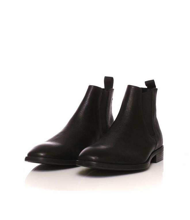 Δερμάτινα ankle boots