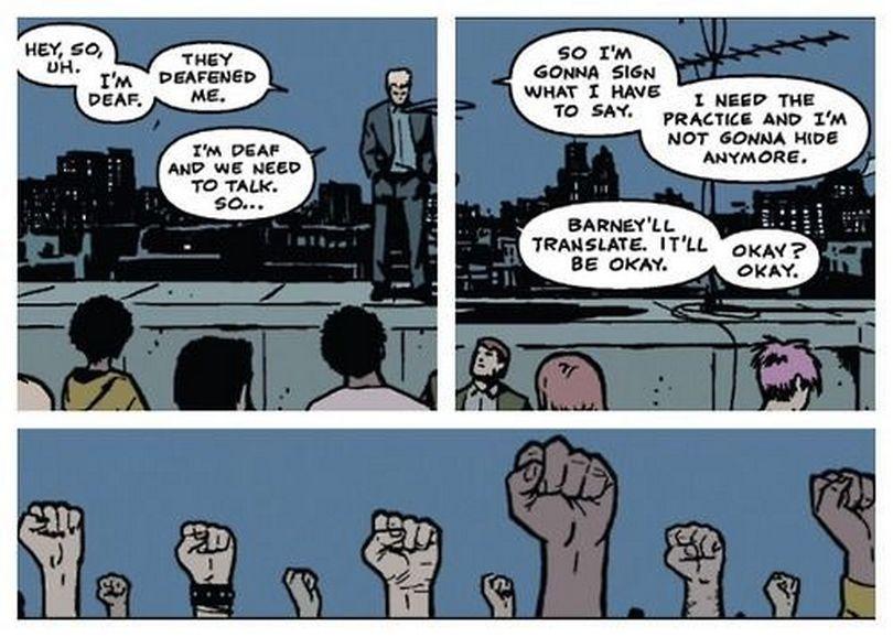 Hawkeye comics