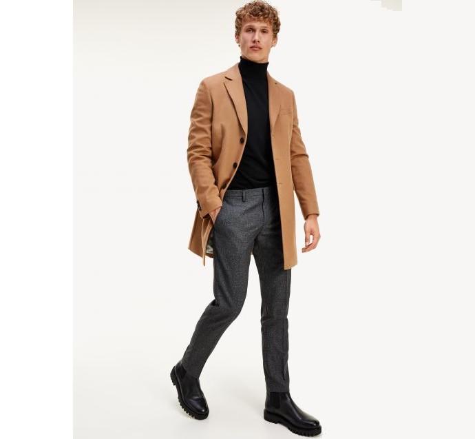 Παλτό από αγνό μαλλί
