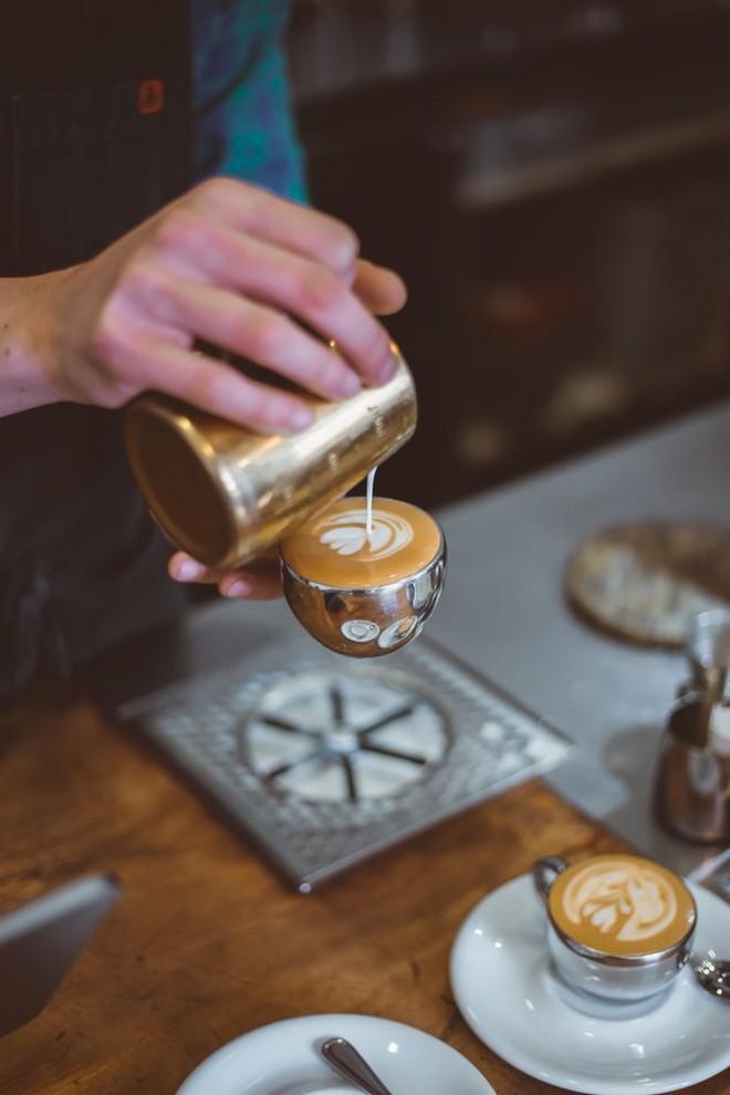 καφές φυτικό γάλα