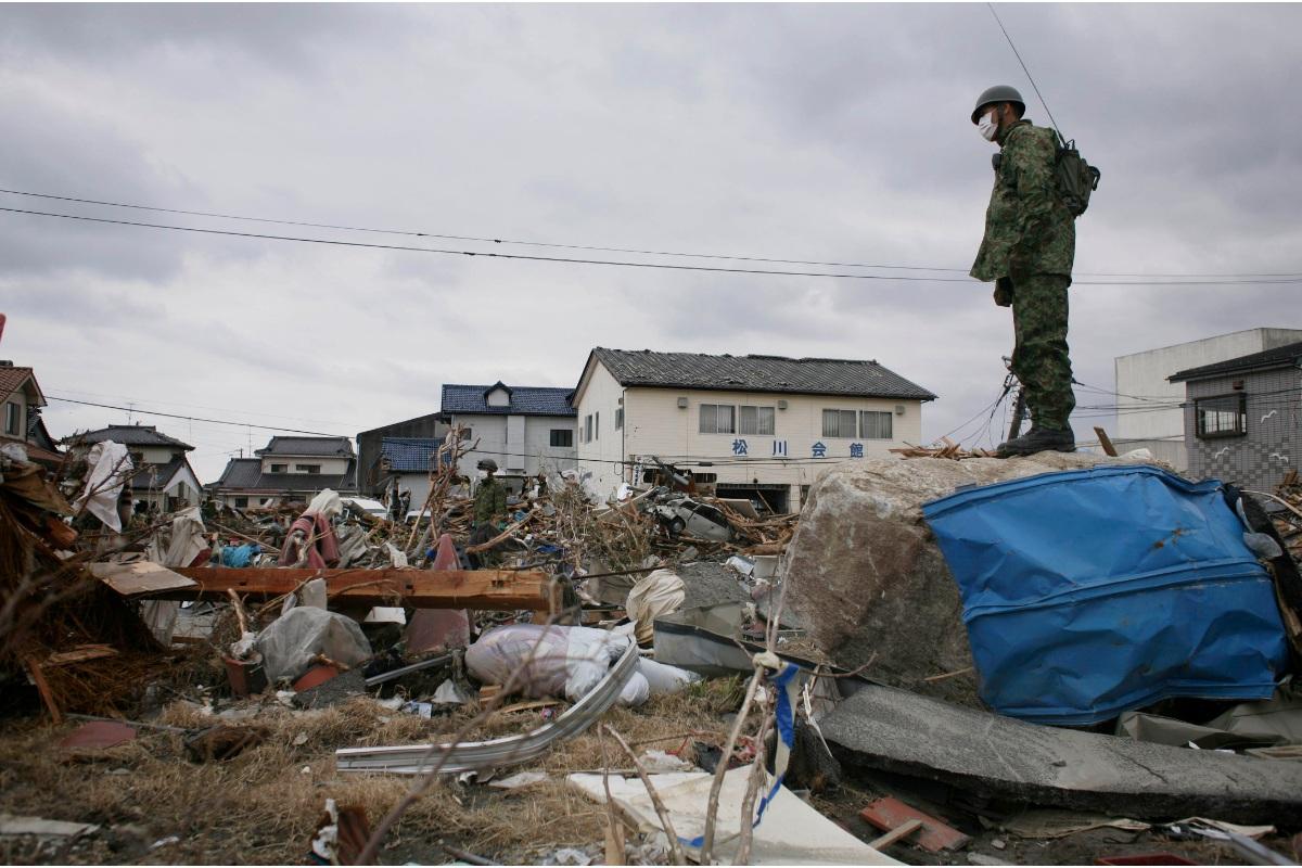 Φωτογραφίες από την πυρηνική τραγωδία της Φουκουσίμα