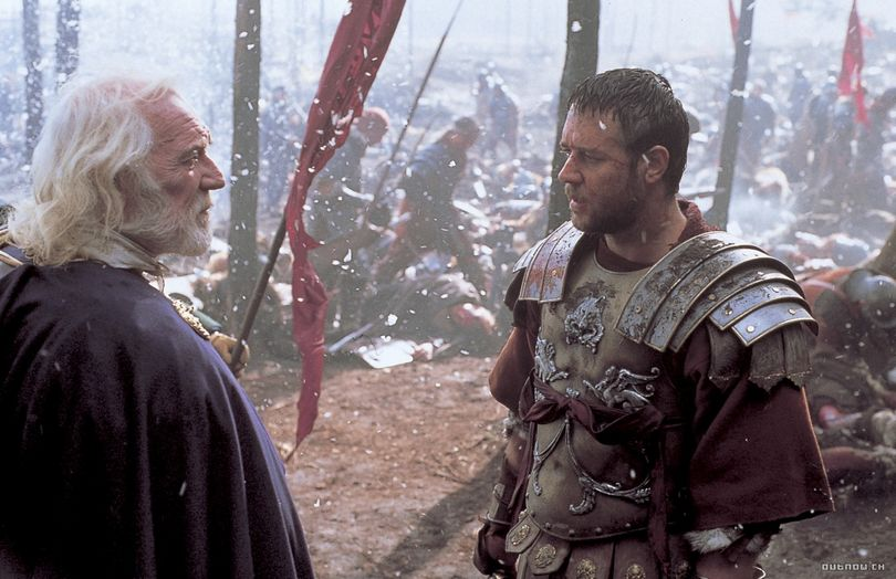 gladiator russell crowe μονομαχος