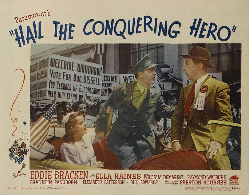 hail the conquering hero ταινίες
