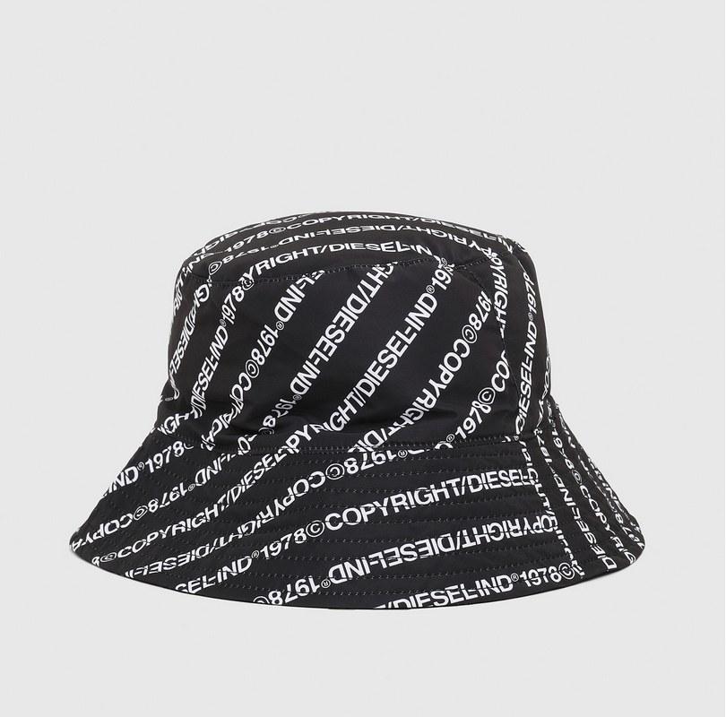 Bucket hat με logo print