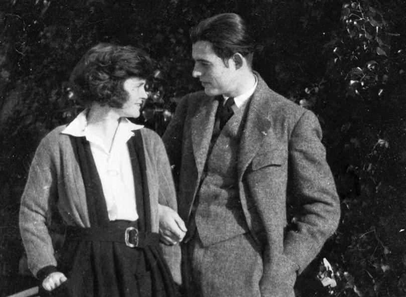 Ο Hemingway με τη Hadley Richardson