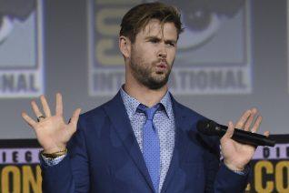 Ο Chris Hemsworth έχει φτάσει σε άλλα επίπεδα εκγύμνασης