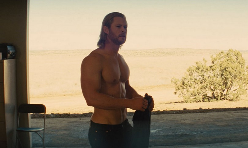 To σώμα του Chris Hemsworth
