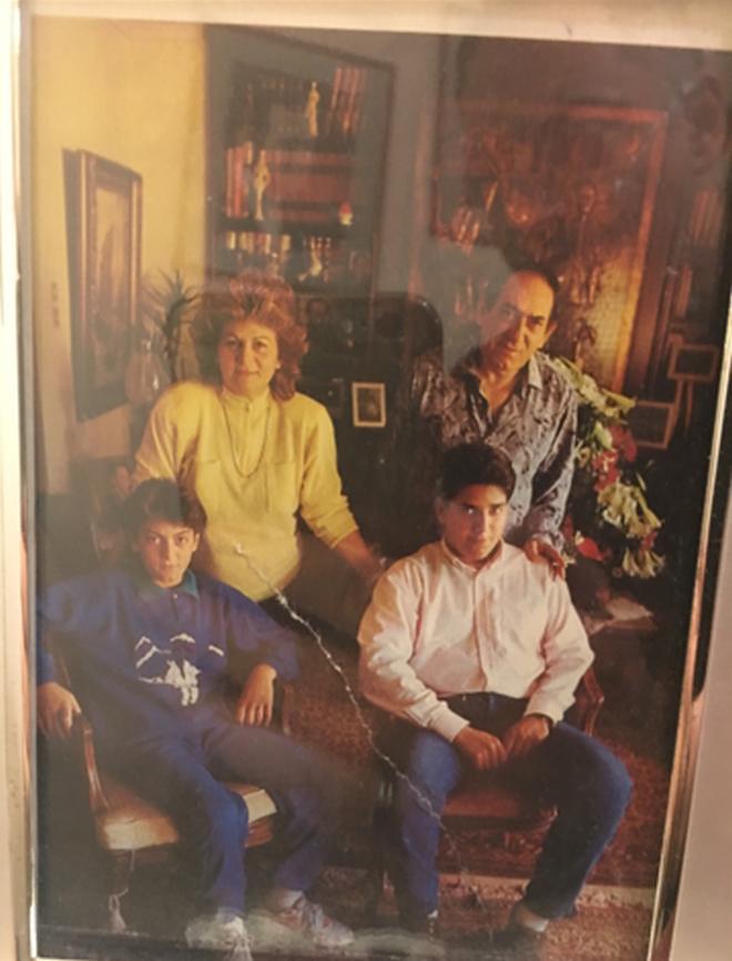 Οικογένεια Διονυσίου Στράτος Διαμαντής Στέλιος