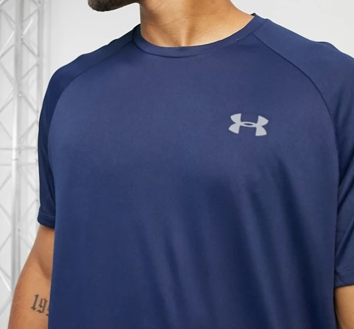 Under Armour Training Tech 2.0 t-shirt in navy