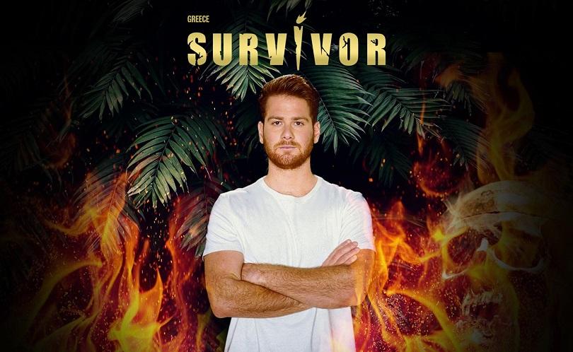Ο James Καφετζής στο Survivor