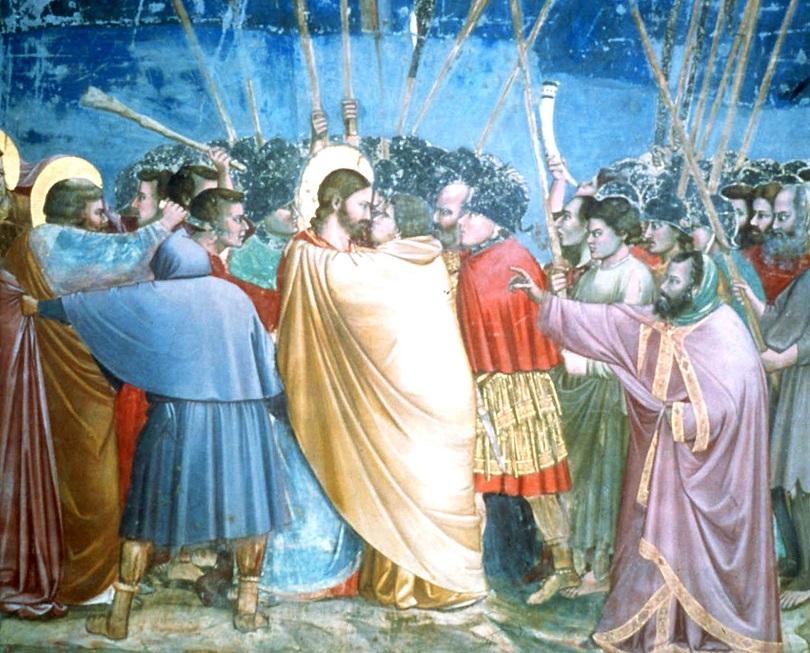 ιουδας χριστος προδοσια φιλί