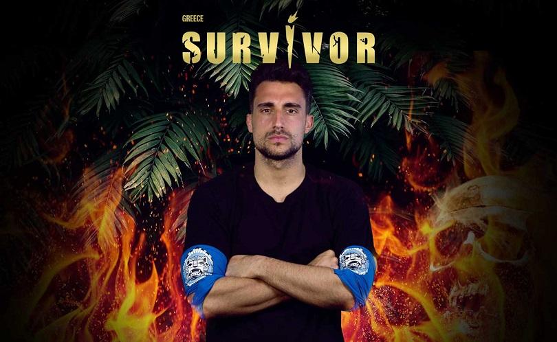 Ο Σάκης Κατσούλης του Survivor