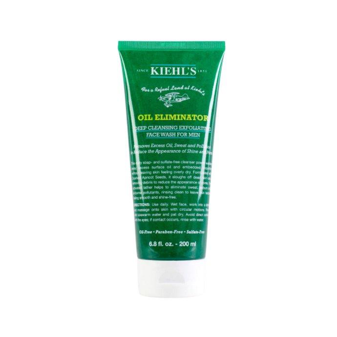 Kiehl's Oil Eliminator Deep Cleansing Exfoliating Face Wash