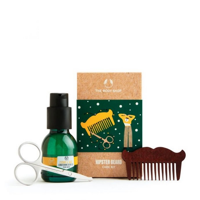 The Body Shop Hipster Beard Care Kit