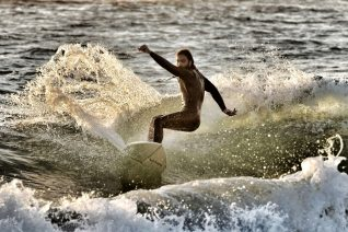 Λαγκούβαρδος, το hot surf spot του Ιονίου