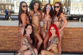 Ο Dan Bilzerian θα ζήλευε τα εγκαίνια του Elia Beach Club στο Λας Βέγκας