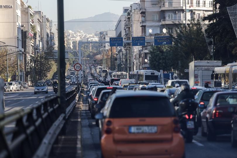 Κίνηση στη λεωφόρο Συγγρού.