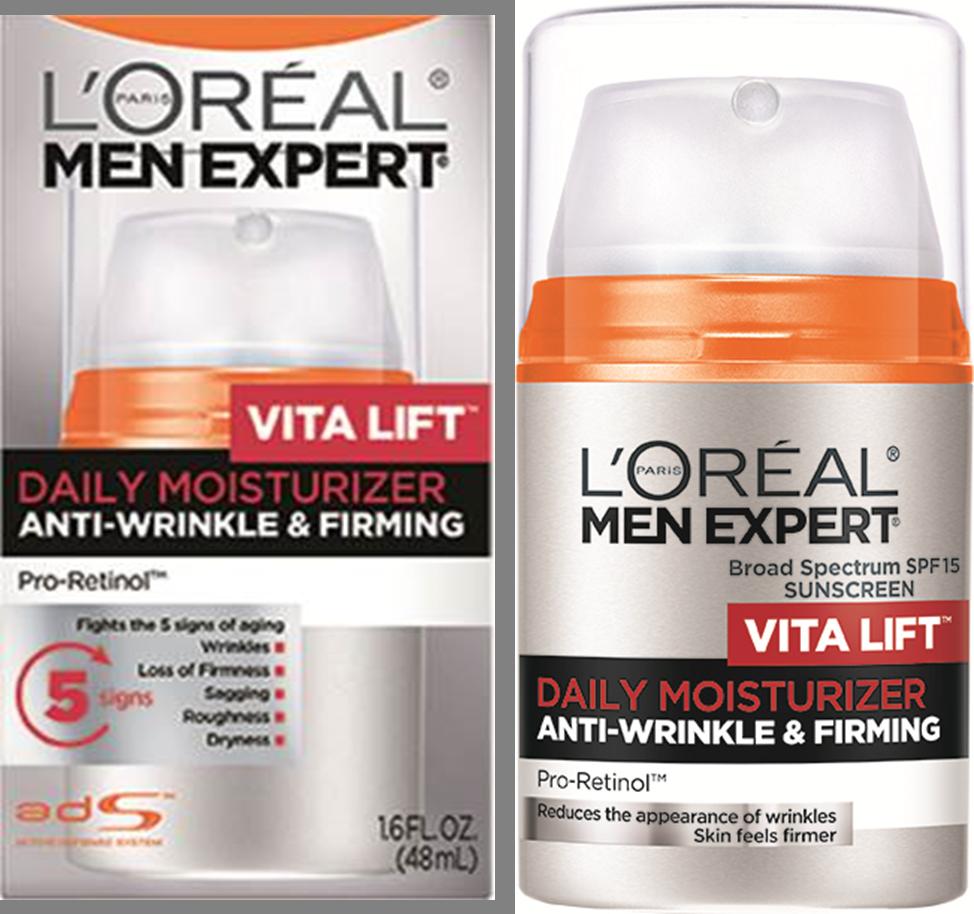 L'Oreal Paris Skincare Men Expert Vita Lift Anti-Wrinkle & Firming Face Moisturizer με SPF 15