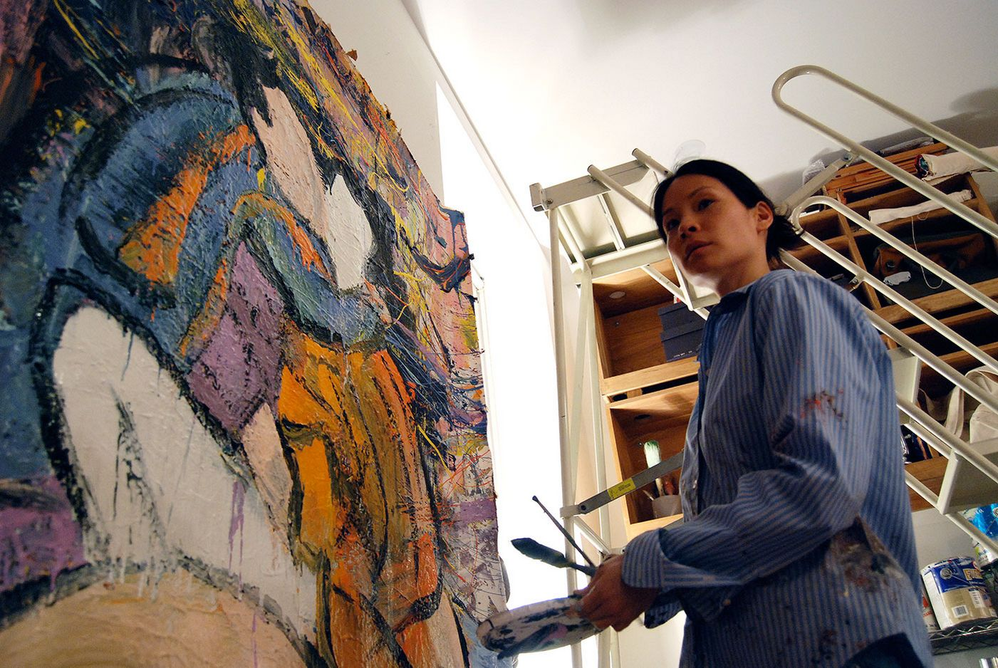 Lucy Liu studio