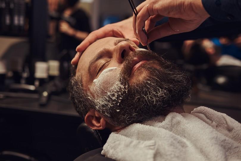 man-barber