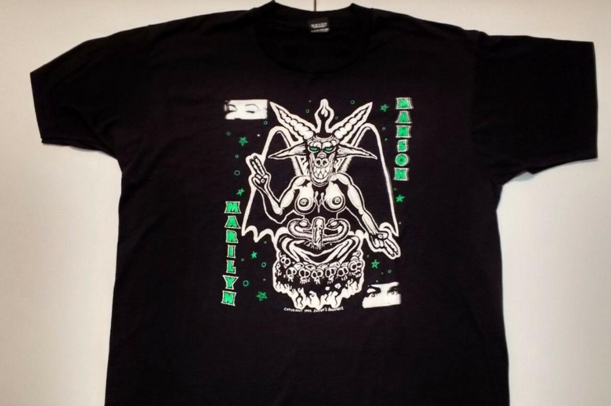 t-shirt - Marilyn Manson
