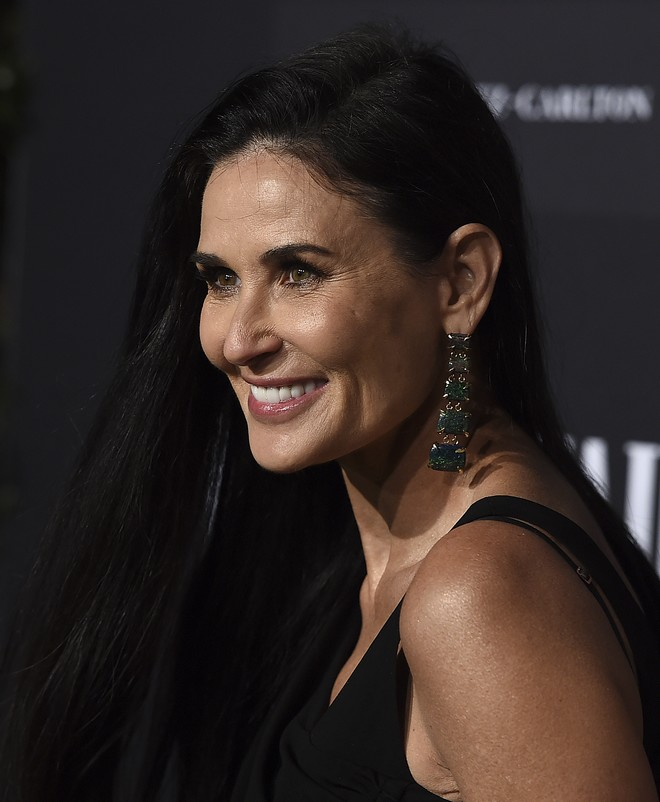 Demi Moore arrives at the Annenberg Space for Photography's Vanity Fair: Hollywood Calling Exhibit Opening on Tuesday, Feb. 4, 2020 in Los Angeles. (Photo by /)