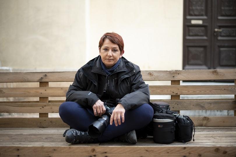 Τατιάνα Μπόλαρη φωτορεπόρτερ Eurokinissi