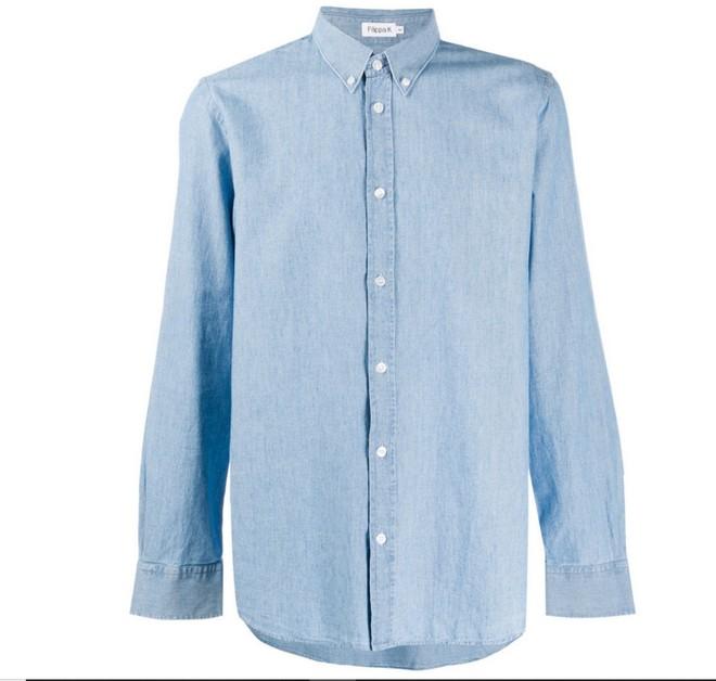 Chambray πουκάμισο