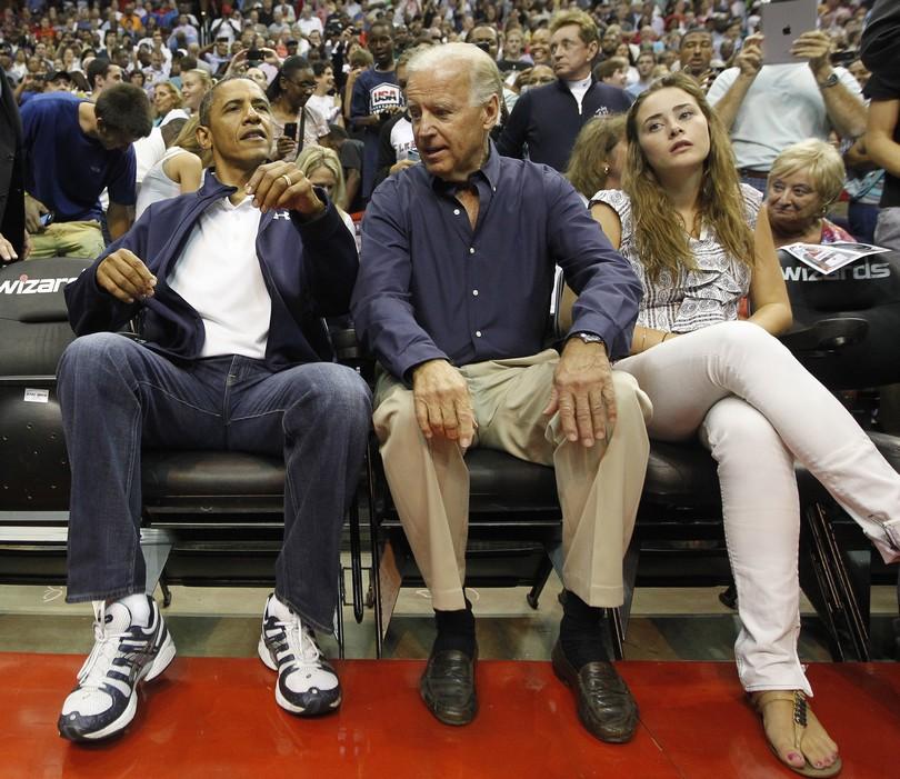 Barack Obama, Joe Biden, Naomi Biden