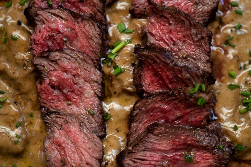 Gnocchi & Sirloin steak