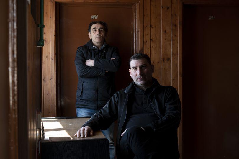 O Γιάννης Οικονομίδης και ο Βαγγέλης Μουρίκης