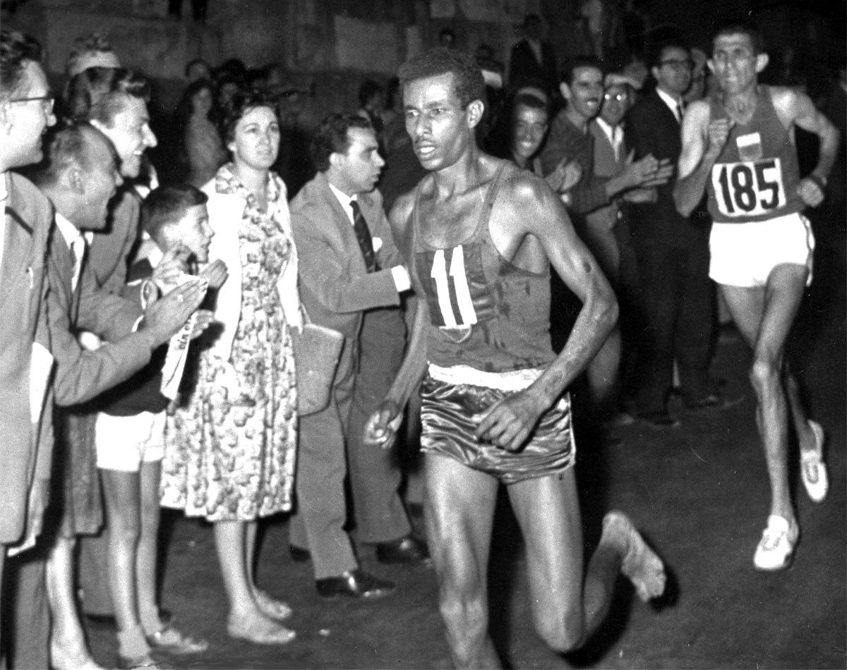 Abebe Bikila, 1960