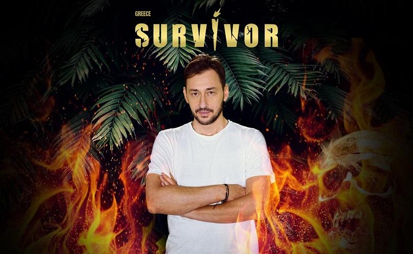 Ο Πάνος Καλλίδης στο Survivor