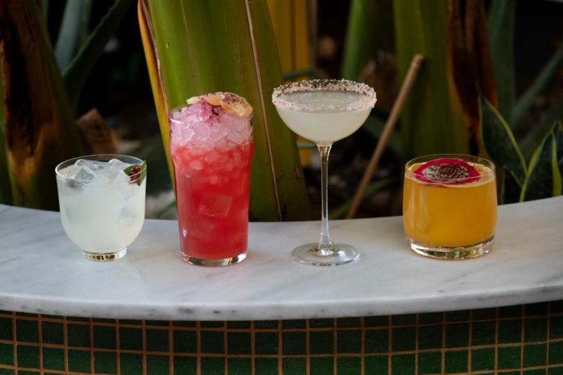 Από αριστερά προς τα δεξιά: La Boquita, Varadero, Classic Margarita, Ζacatecas