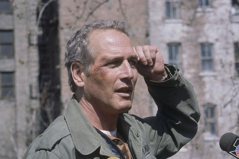 Ο Paul Newman στα γυρίσματα ταινίας.