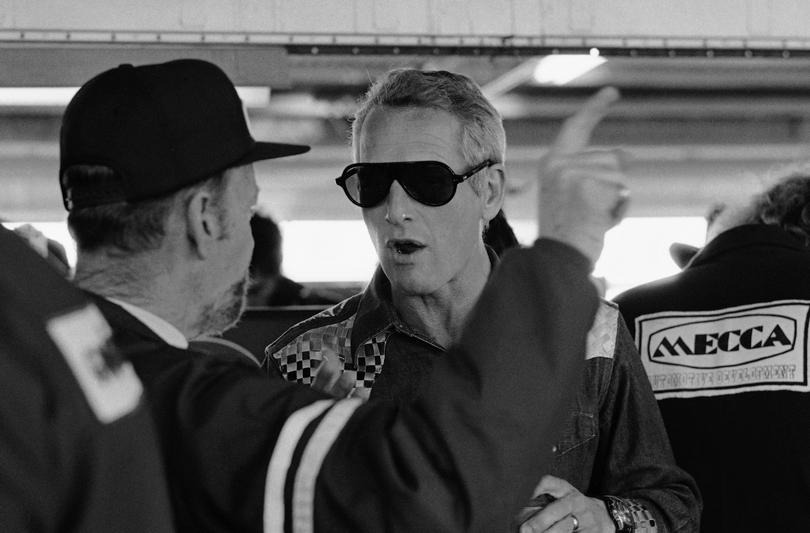 Ο Paul Newman σε αγώνα