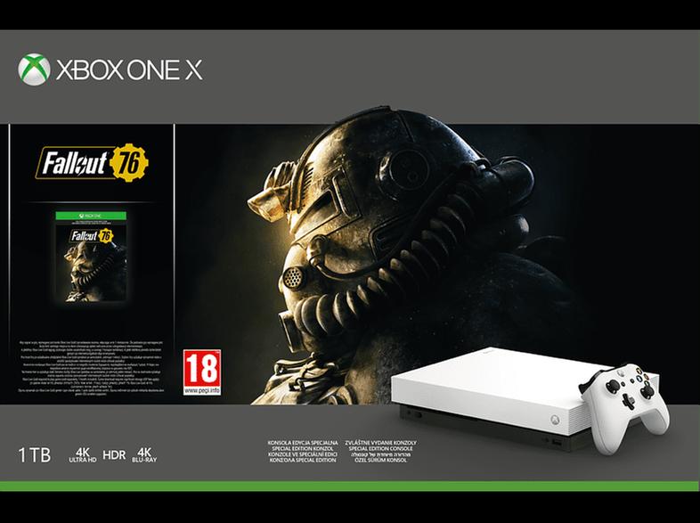 MICROSOFT Xbox One X 1TB Fallout 76