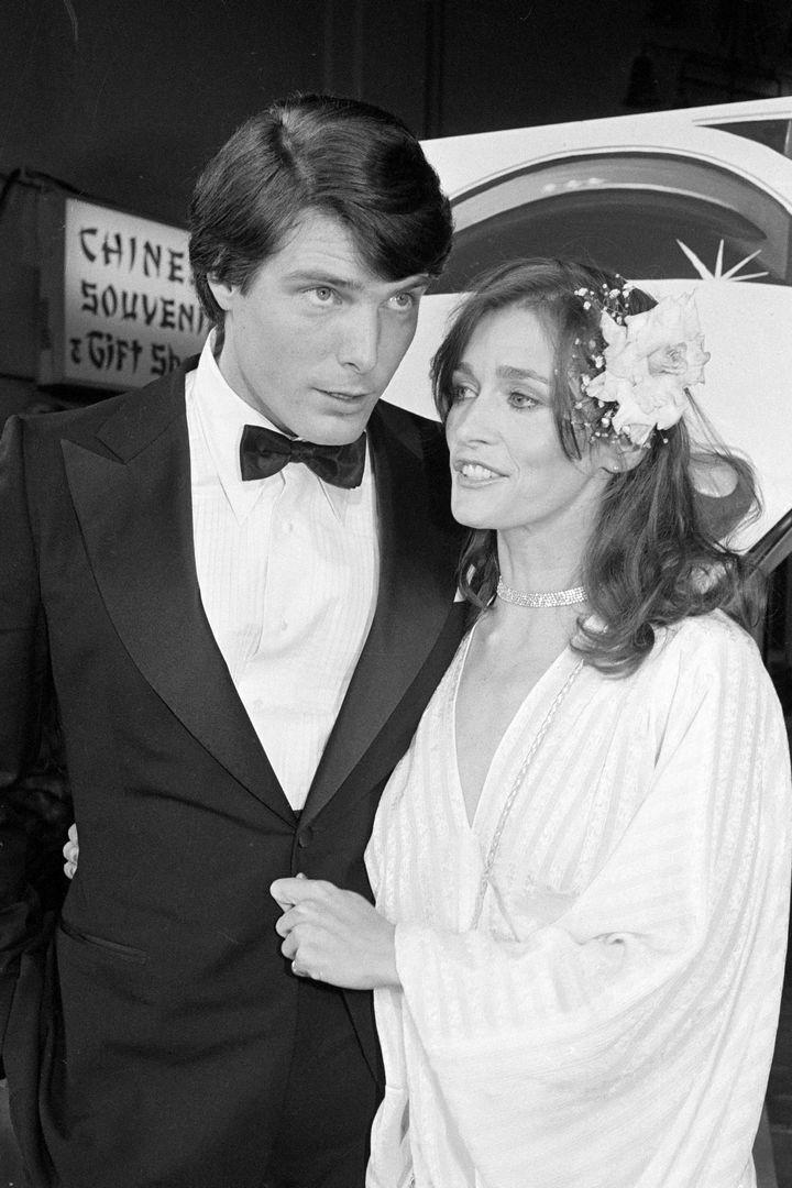 Ο Christopher Reeve με τη Margot Kidder