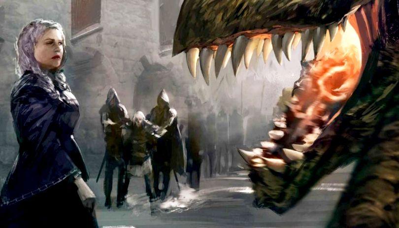 Illustration της Rhaenyra Targaryen
